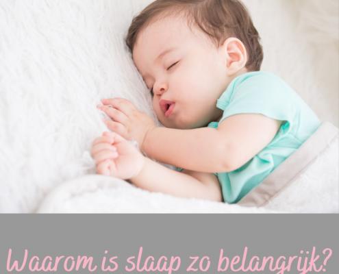 slapen baby of kind belangrijk